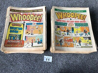 Collection Of 90s Early Whoopee Comics  1978 1979 - 80 Issues