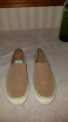 TOMS Women's 10011803 Toffee Suede Rope Sunset Slip-on Sneaker Shoes SIZE 8