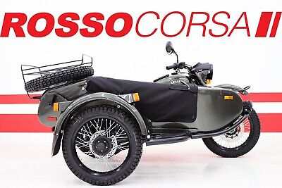 2018 Ural Gear Up (2WD)  2018 Ural Gear Up (2WD) 2018 GEAR UP / UNLIMITED MILES WARRANTY / CASCADE GREEN