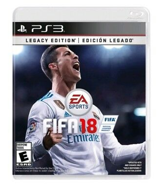 FIFA 18: Legacy Edition (Sony PlayStation 3, 2017) Brand New PS3. Sealed
