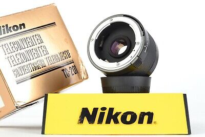Nikon TELECONVERTER TC-201 2X Manual Focus Teleconverter w/ Box #P9817