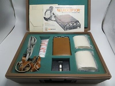 Transcutaneous Electrical Nerve Stimulator Neuroceptor II With Case Never Used