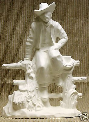 Ceramic Bisque Western Ranch Foreman Doc Holliday 2352 U-Paint Ready To Paint