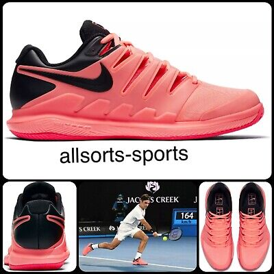 Nike Air Zoom Vapor X Clay 10 Roger Federer | Uk 6 Eu 40 Us 7 | Aa8021-660