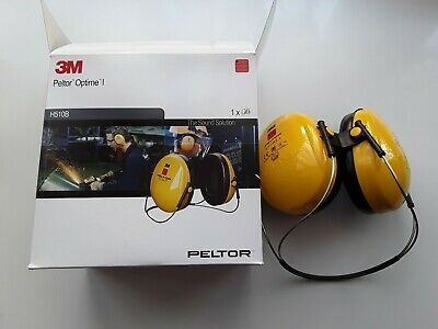G3M Peltor Optime I , Optime 1 neckband ear defender  brand new in the box