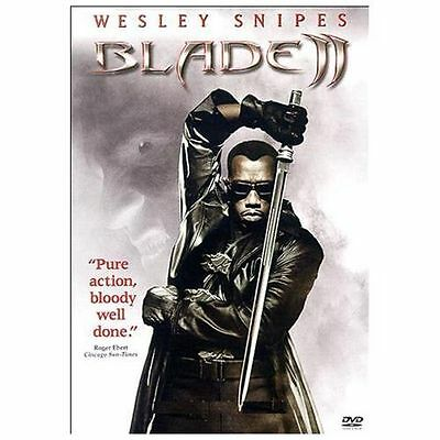 BLADE II -DVD MOVIE: Widescreen- Wesley Snipes-BRAND NEW & SEALED!!FREE SHIPPING