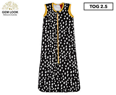 Gem Look 2.5 Tog Sleeping Bag - Charcoal Dots