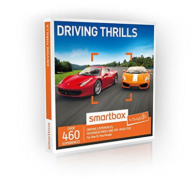 Buyagift Driving Thrills Gift Experiences Box - 460 driving experience days on