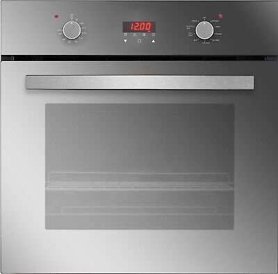 """24"""" 9 Functions Push Button and Digital Control Convection Electric Wall Oven"""