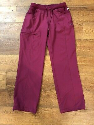 6bbbc951baa Infinity by Cherokee 1123A Women's Low-Rise Straight Leg Drawstring Pants  small