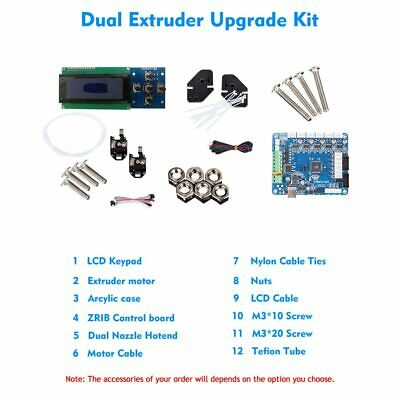 NEW 3D PRINTER Dual/Mixed Upgrade Kit for Zonestar P802N P802M P802Q P802QS
