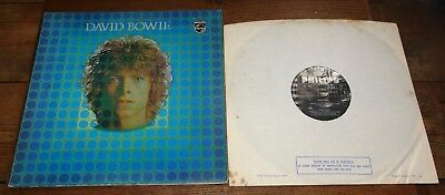 David Bowie Same Self S/T Space Oddity Uk Philips Lp 1St Press 1969 Excellent