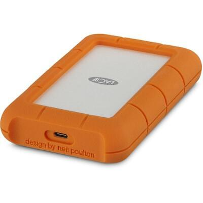 LaCie 5TB Rugged USB-C Portable External Hard Drive HDD PC MAC Laptop Desktop