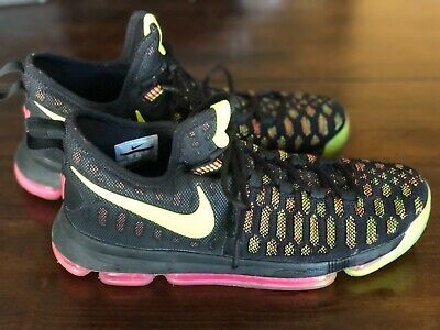 check out 08390 fc321 NIKE ZOOM KD 9 Unlimited Black/Green Pink Kevin Durant Men's Size 11  843392-999
