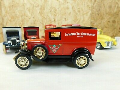 Canadian Tire Coin Bank 1930 Ford Model A Liberty Classics Die Cast 1:25 Trg-80