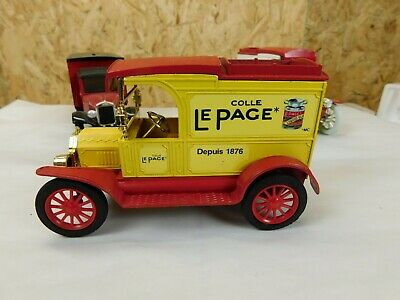 1913 Ford Model T Coin Bank Lepage Glue Canadian Die Cast 1:25 Scale Ertl Trg-83