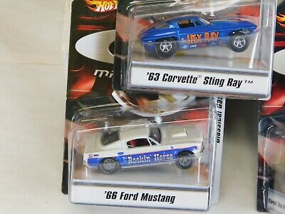Hot Wheels G-Machines - New Lot Of 4 Cars - Classical Gassers (Group #4 ) Trg-Aa