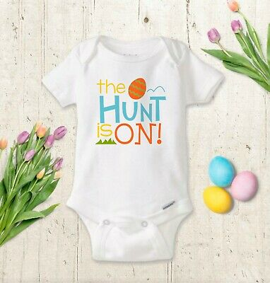 Easter Baby Boy Bodysuit, Toddler Shirt, Cute Easter Outfit