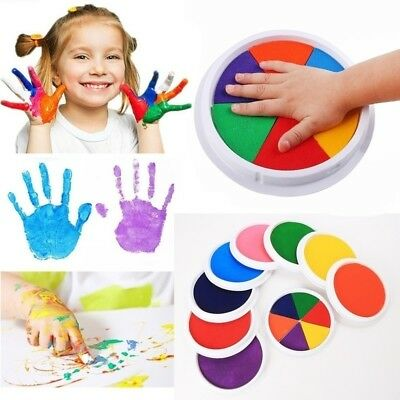 Kids Baby Footprint Handprint Imprint Kit Casting Printing Clay Children's Gifts