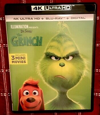 Dr. Seuss' The Grinch (4K Ultra HD Disc and Case Only) No Digital HD
