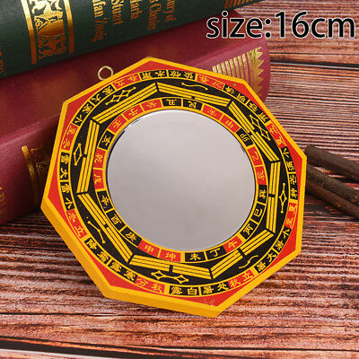 """6"""" Inch Chinese Dent Convex Bagua Mirror Blessing House Protection Feng Shui WL"""