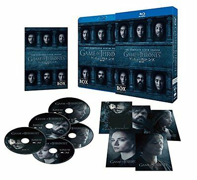 PRE ORDER,GAME OF THRONES THE COMPLETE SIXTH SEASON COMPLETE BOX,Blu-ray(Re)