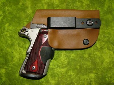 Look!!! Super Nice Left Iwb Coyote Kydex Holster Hand Made Fitted