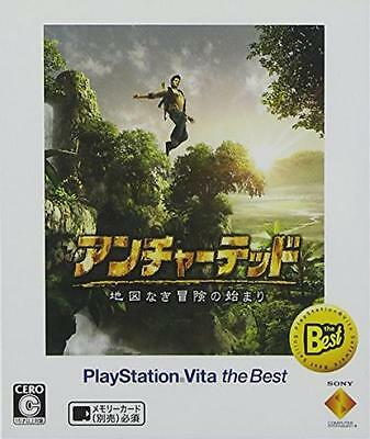 PS Vita Uncharted Golden Abyss PlayStation Vita the Best JAPAN