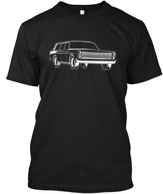1966 Ford County Sedan T-Shirt 100% Cotton S-5XL New