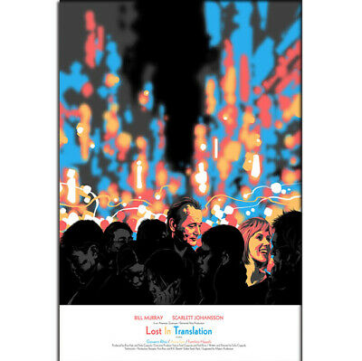 Z-1770 Hot Lost in Translation Movie Classic Japanese Silk Poster Art Decor