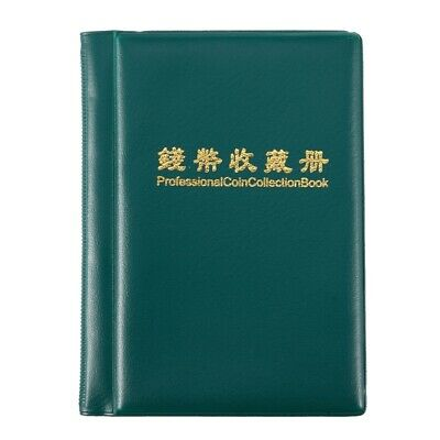 Durable Collection book for Coin Album of Pieces Portable Storage Pouch of  G8D3
