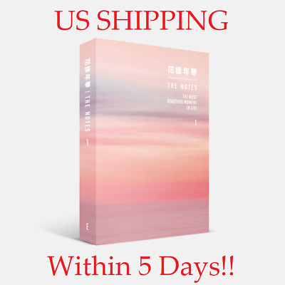 US SHIPPING BTS-The Notes 1 The Most Beautiful Moment In Life Book+Gift+PreOrder