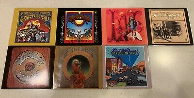 The Grateful Dead - 7 CD Lot - Rhino/Warner - Jerry Garcia