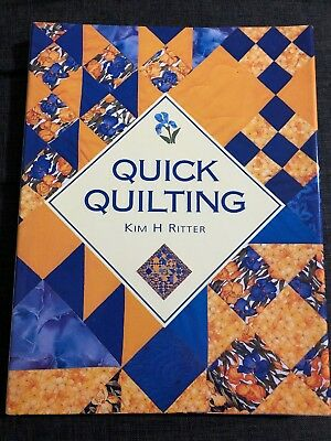 Quick Quilting Book - Kim Ritter - Patchwork Sewing