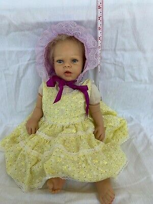 Ashton Drake Lily Rose Baby Girl Doll by Michelle Fagan Cloth Silicone Reborn