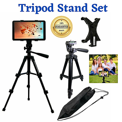 NEW Adjustable Floor Mount Tripod Stand for iPad 2 3 4 Mini/Tablet (7 - 10 inch)