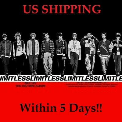 US SHIPPING NCT127-[NCT #127 Limitless]Random CD+Book+Poster/On+Card+etc