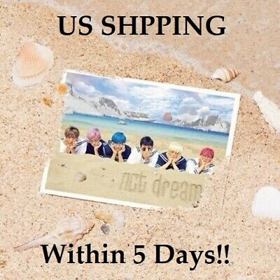 US SHIPPING NCT Dream-[We Young]1st Mini Album CD+72p Booklet+1p PhotoCard