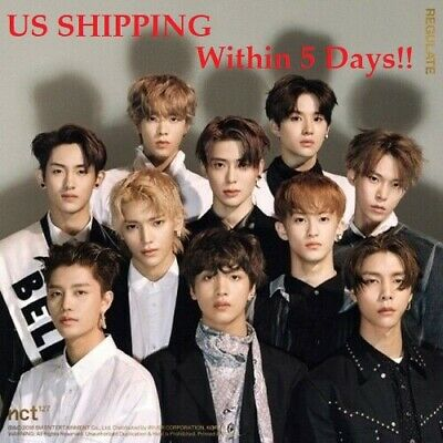 US SHIPPING NCT 127-[NCT #127 Regulate]1st Repackage CD+Booklet+PhotoCard