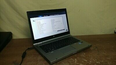 "HP Elitebook 8470p Laptop Intel Core i5 @ 2.5Ghz 4GB RAM 14"" LCD Multi DVD Boots"