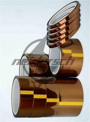33M 110ft High Temperature Heat Resistant Polyimide Kapton Tape 3mm-15mm