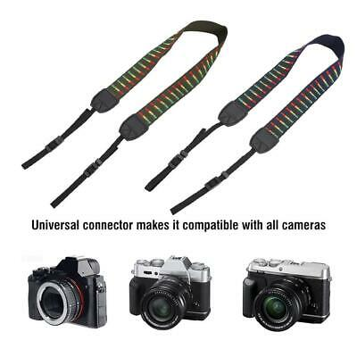 Adjustable Camera Lanyard Neck Universal Vintage Style Camera Shoulder Strap ZZ