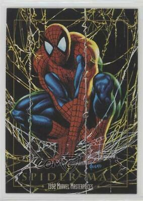 1992 SkyBox Marvel Masterpieces #87 Spider-Man Non-Sports Card s1t