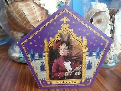 Harry Potter Chocolate Frog Card - Artemisia Lufkin - ULTRA RARE
