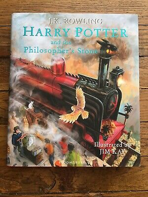 Harry Potter and the Philosopher's Stone: Illustrated Edition by J. K....