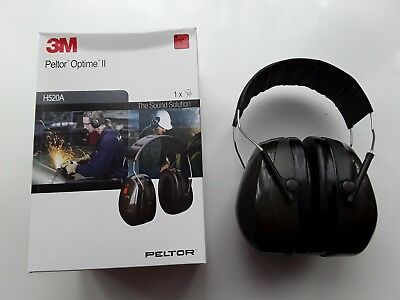 3M Peltor Optime II Ear Defenders Headband version