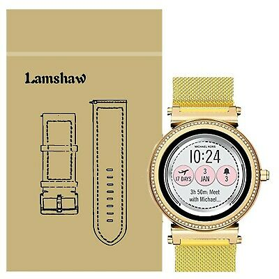 b37bb007cab1 LAMSHAW QUICK RELEASE Smartwatch Band For Michael Kors Access Sofie ...