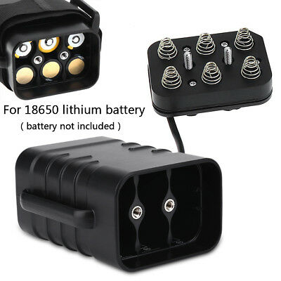8.4V 6x 18650 Waterproof Battery Pack Case House Cover For Bicycle Bike Lamp ZH