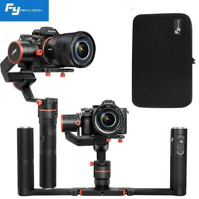 Feiyu a1000 Dual Handle Grip 3-Axis Gimbal Stabilizer for DSLR Mirrorless Camera