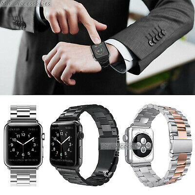 2019 Stainless Steel Band iWatch Strap Bracelet For Apple Watch 1/2/3/4 40/44mm